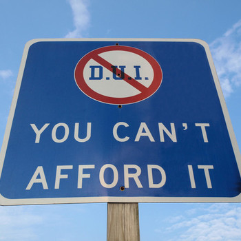 The Cost of Your First DUI