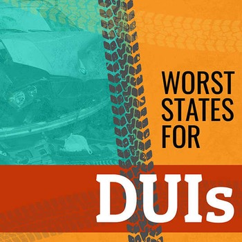 Worst States For DUIs